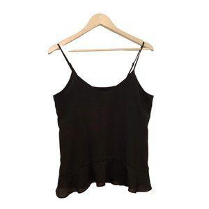 Black spaghetti strap blouse